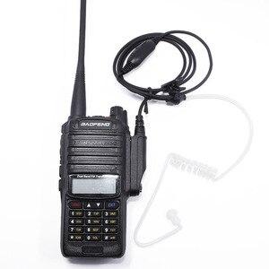 Image 5 - 2Pcs Baofeng UV 9R Plus Wasserdichte Covert Air Acoustic Rohr Ohrhörer für BaoFeng UV XR A 58 UV 9RPlus GT 3WP Walkie Talkie Radio