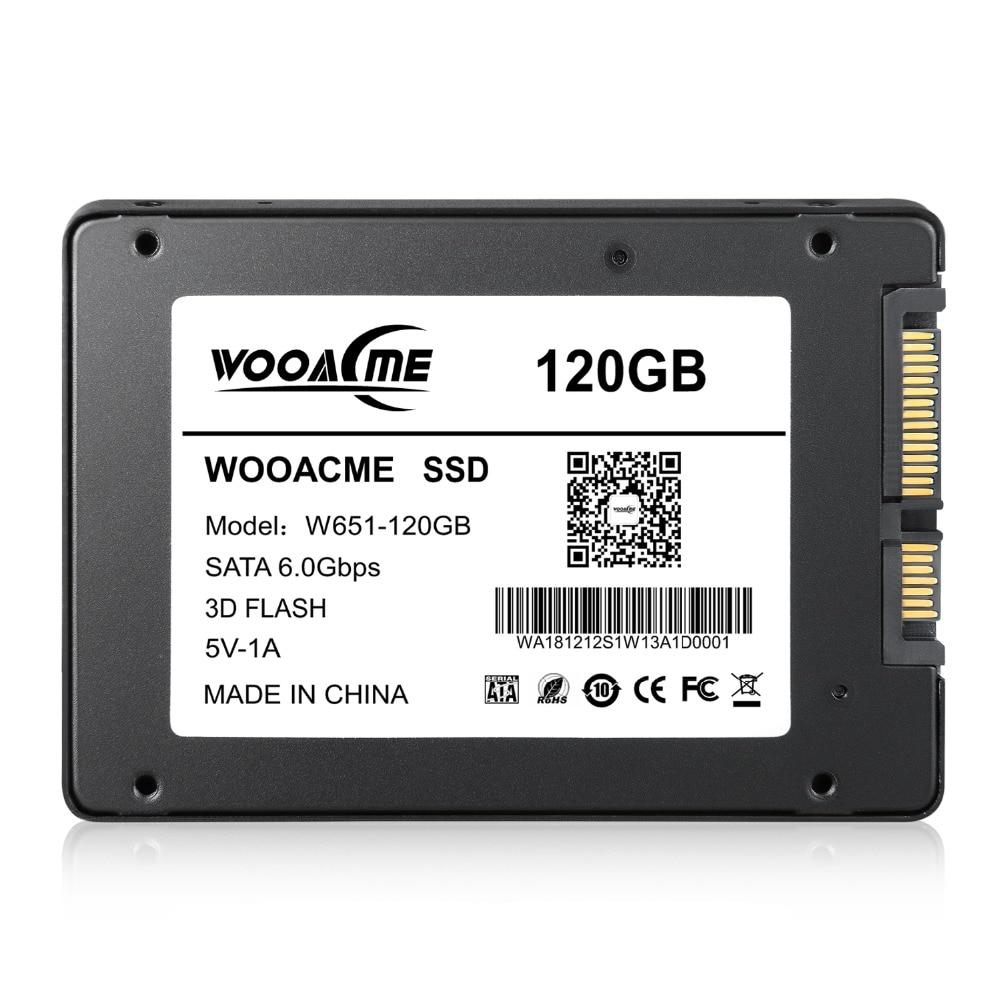 Image 5 - Wooacme W651 SSD 120GB 240GB 480GB 960GB 128GB 256GB 2.5 inch SATA III SSD Notebook PC Internal Solid State Drive-in Internal Solid State Drives from Computer & Office