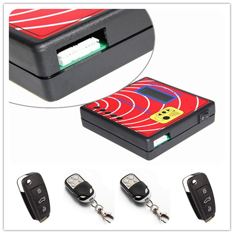 ФОТО Fixed/Rolling Code Remote Control Regenerator Digital Counter Remote Master With 4pcs Fixed Code Remote Keys 250-450MHZ