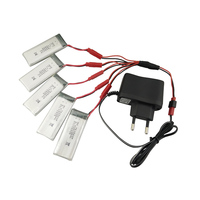 teeggi-8807w-900mah-37v-lipo-battery-with-euro-plug-ac-charger-for-8807-rc-drone-quadcopter-spare-parts-helicopter-vs-xs809w