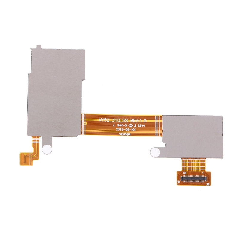 Sim Card TF Card Slot Holder Flex Cable For Sony Xperia M2 S50H D2303 D2305 D2306(China)