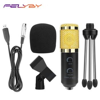 Хит! BM800 обновлен BM900 конденсаторный микрофон с регулируемым металлическим кронштейном microfono