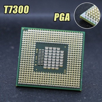 original CPU for intel planform laptop Core 2 Duo T7300 CPU 4M Socket 479 Cache/2.0GHz/800/Dual-Core processor support 965