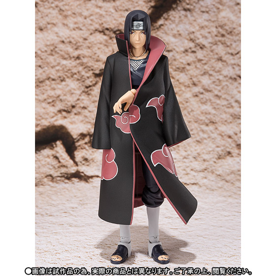 Japan Anime NARUTO Shippuden Original BANDAI Tamashii Nations S.H. Figuarts / SHF Exclusive Action Figure - Uchiha ITACHI japan anime lupin the 3rd original bandai tamashii nations shf s h figuarts toy action figure fujiko mine