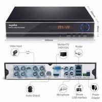 SANNCE 8CH 3IN1 1080N CCTV DVR Video Recorder Full H 264 HDMI P2P Cloud Motion Detecting