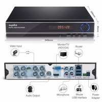SANNCE 8CH 3IN1 1080N CCTV DVR Video Recorder Full H 264 HDMI P2P Cloud Motion Detecting