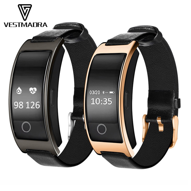 CK11S font b Smart b font Band Blood Pressure Heart Rate Monitor Wrist font b Watch