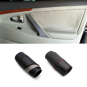 For Toyota Camry 2006 2007 2008 2009 2010 2011 2012 Microfiber Leather Door Panel Cover Trim