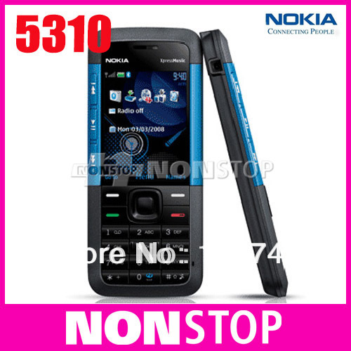 US $32 22  5310 Original Nokia 5310 Xpress Music Unlocked Mobile Phone-in  Mobile Phones from Cellphones & Telecommunications on Aliexpress com  