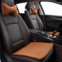 Automobiles Plush car seat cover for Volkswagen vw passat b5 b6 b7 polo 4 5 6 7 golf tiguan car automobiles accessories cushion