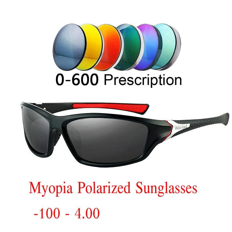 48053cf0261 MINCL 2019 Diopter Finished Myopia Polarized Sunglasses Men Polarized  Glasses Vision Anti-glare Polarized