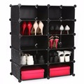 Home DIY Portable Easy Assemble Shelving Shoe Stand Rack Wardrobe Bathroom Storage Organizer Shelf