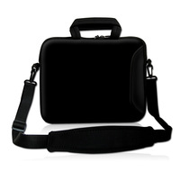 17 17 3 Inch Water Resistant Neoprene Sleeve Notebook Messenger Case Tote Bag With Outside Handle