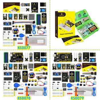 Keyestudio Super Starter kit/ RFID Learning Kit Compatible with  Arduino Starter kit (UNOR3) With Tutorial/Gift Box - DISCOUNT ITEM  0% OFF All Category