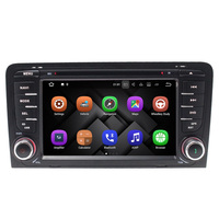 1024*600 Android 7.1 Car DVD Player GPS Navigation For Audi A3 S3 2002 2003 2004 2005 2006 2007 2008 2009 2010 2011 Can Bus 4G