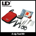 100% Original UD Coil Mate DIY Tool Kit E Cigarette with ohm Meter /Ceramic Tip tweezer /CVS Cutter pliers scissor/coil jig