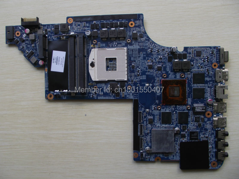 Free Shipping 655488-001 for HP Pavilion DV7 DV7-6000 Dv7T motherboard 6770/2G.All functions 100% fully Tested !