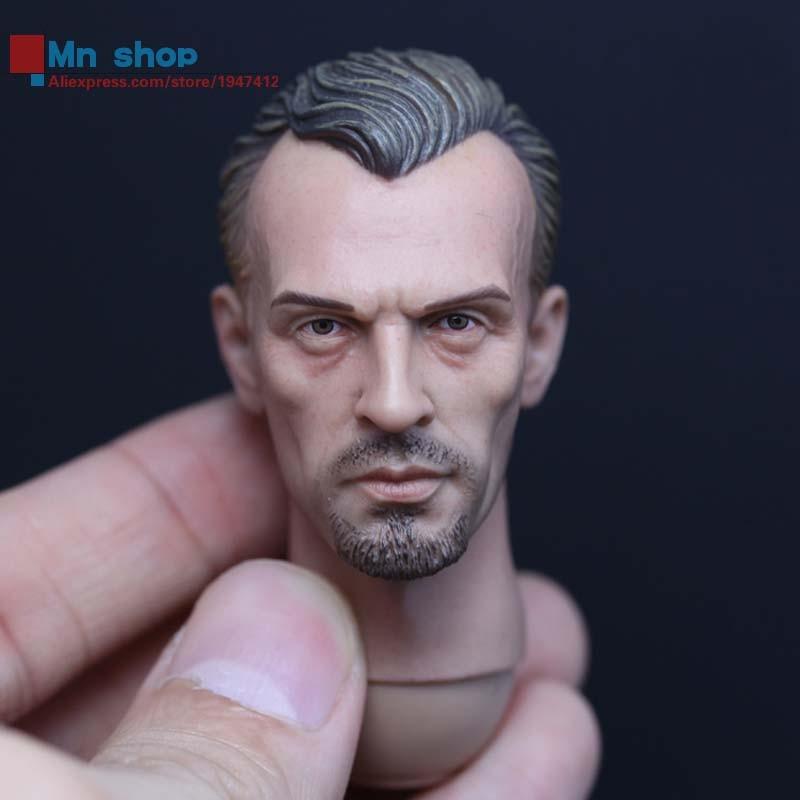 "1:6 Action Figure Accessory Custom 1/6 Soldier Prison Break T-BAG Head Sculpt Headplay Head Carving for 12"" Figure Doll Toys"