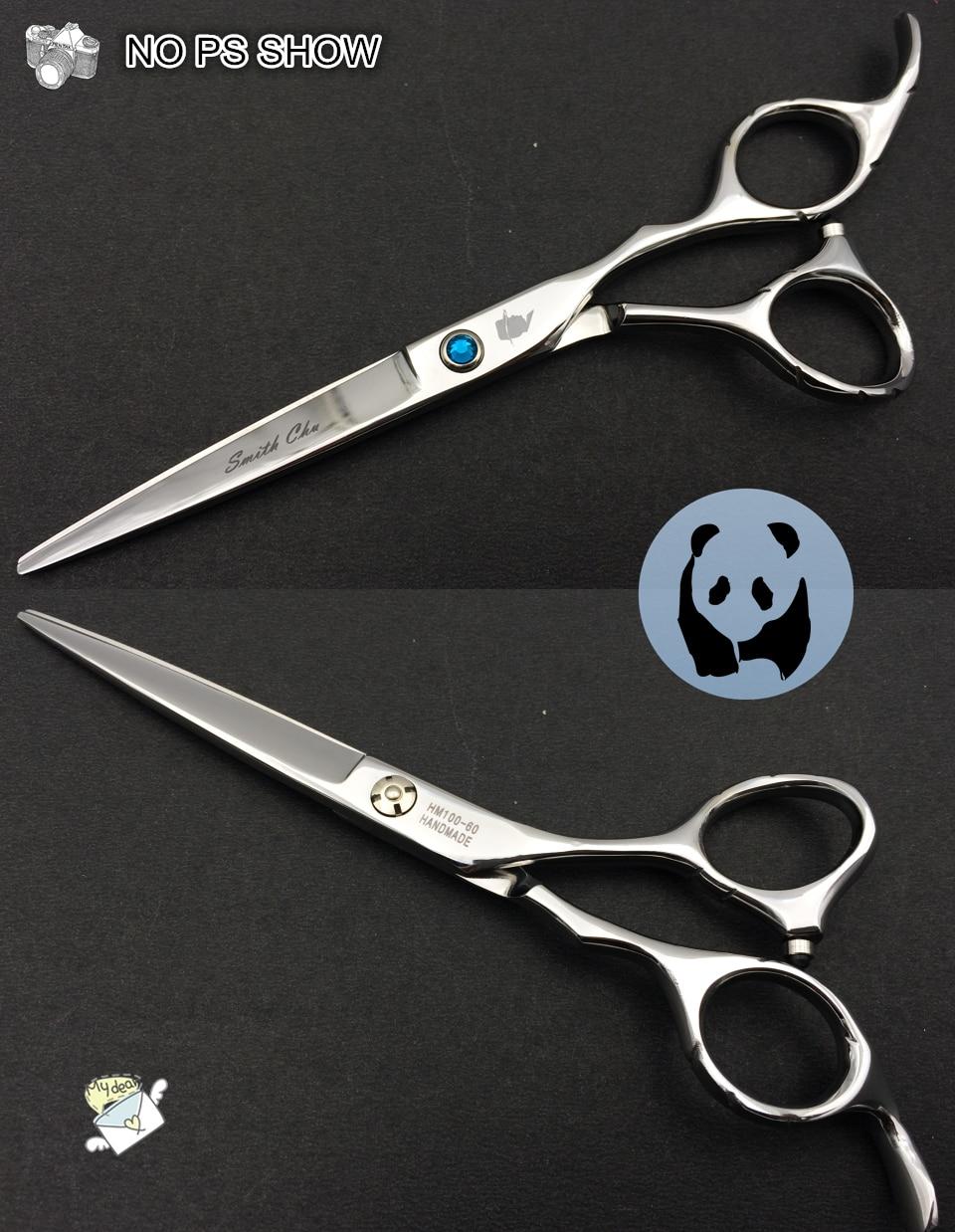 Smith chu 6.0 inch Profesional Hairdressing Gunting menetapkan 62HRC - Penjagaan rambut dan penggayaan - Foto 6