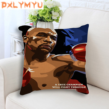 Linen Cushion Stan Lee Michael Jordan Lionel Messi Heisenberg Cartoon Posters Decorative for Sofa Throw Pillow