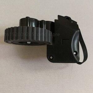 Image 5 - Po lewej stronie prawe koło dla odkurzacz robot ilife a4 a4s a40 X451 części do robota odkurzającego ilife a4 a4s koła obejmują koła silnik