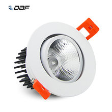 [DBF]Super Gorgeous Dimmable LED COB Recessed Ceiling Downlight 7W/9W/12W/15W/18W Ceiling Spot Light with AC85-265V LED Driver(China)