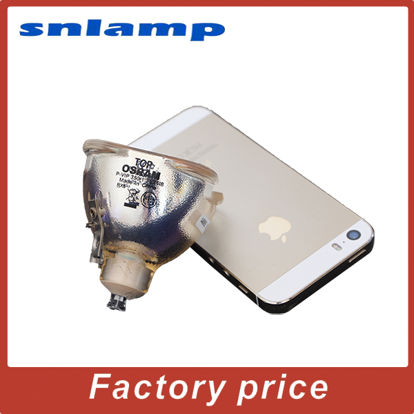 100% Original Osram Bare Projector lamp 9E.0CG03.001  P-VIP 350/1.3 E21.8 bulb  for SP870 original bare projector lamp bulb osram p vip 280 0 9 e20 8 for wd620u xd600u fd630u vlt xd600lp