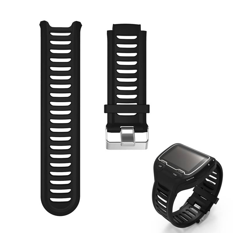 ALLOYSEED Silicone Watch Bands Strap For Garmin Forerunner 910XT GPS Triathlon Running Swim Cycle Training Sports Watch Band