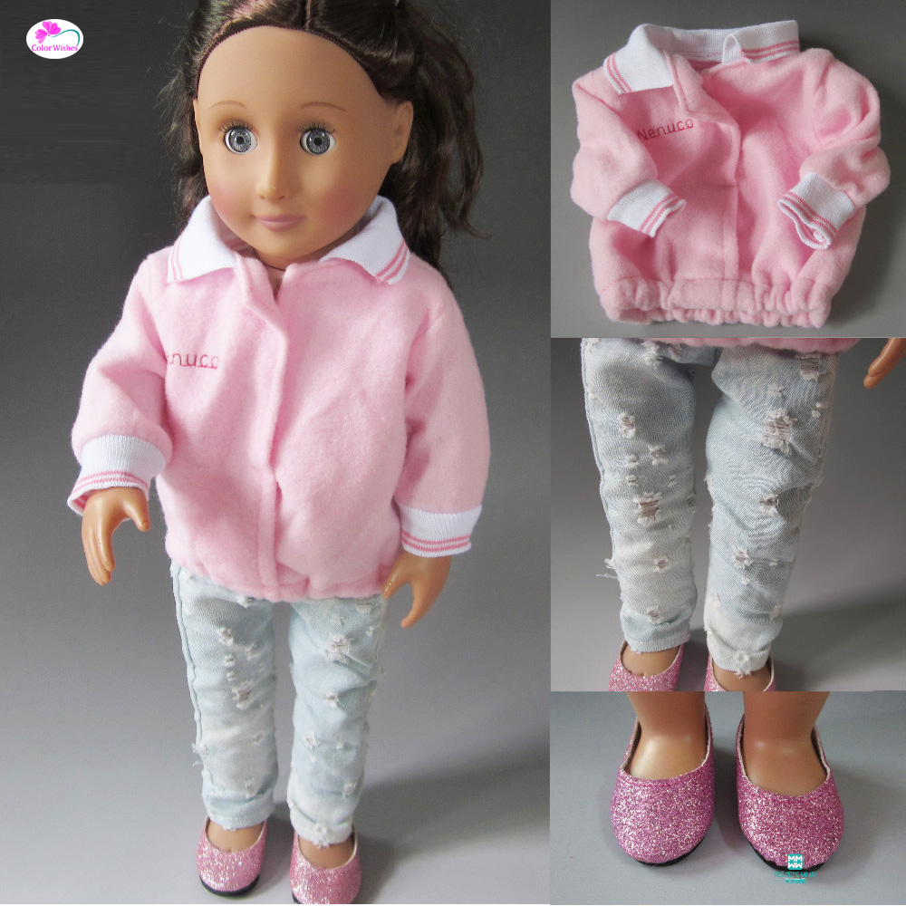 Doll accessories clothes for 45cm American girl and our generation doll fashion 45cm american girl doll dress clothes for18inch american girl doll accessories aug 9