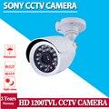 HD Sony 1200TVL ВИДЕОНАБЛЮДЕНИЯ Открытый Водонепроницаемый Видеонаблюдения безопасности Ночного Видения камеры 3.6 мм фиксированный объектив для камеры системы видеонаблюдения