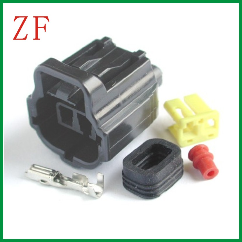 Amp Tyco Male Connector Terminal Car Wire Connector 2 Pin