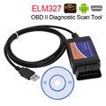ELM327 connecteur d'interface USB OBD2 | ELM 327 V 1.5 OBD 2 V1.5 Scanner automatique ELM-327 Scanner