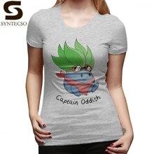 f20d80e8ca5c Jigglypuff Capitão T-Shirt Oddish Esboço Camiseta 100 Algodão Na Moda  Mulheres camiseta Navy XXL