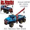 Lepin 20056 1912Pcs Technic Series The Ultimate All Terrain 6X6 Remote Control Truck Set Building Blocks