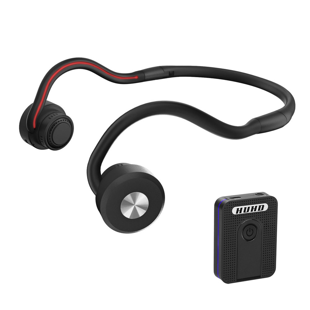 Bone Conduction Bluetooth Wireless headphones hearing aid Portable Sports headset Amplifier Hearing Suitable for TV the
