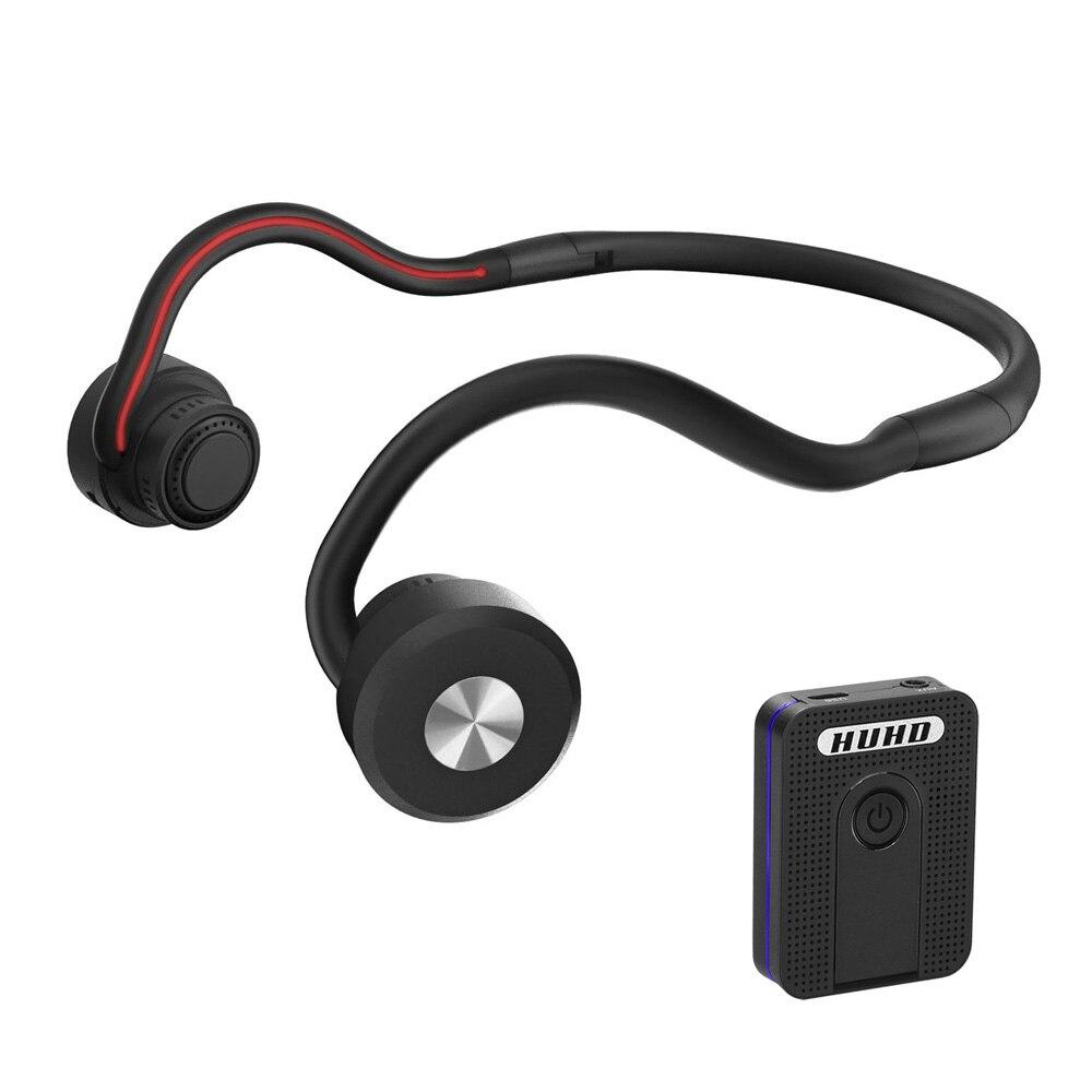 Conduction osseuse Bluetooth casque sans fil prothèse auditive Portable sport casque amplificateur audition adapté pour TV les personnes âgées