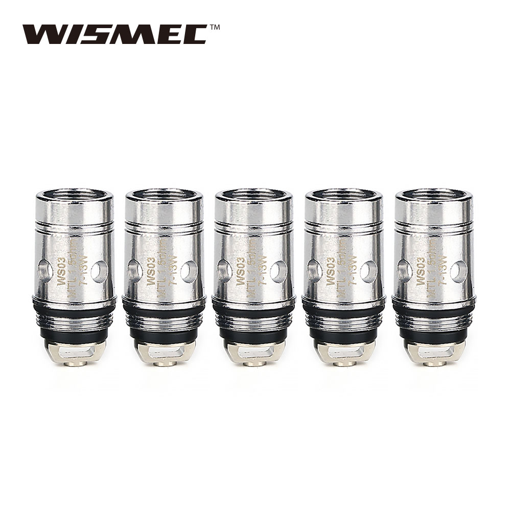 5pcs WISMEC Amor NS Atomizer Replacement Coil Head 1 3ohm 0 27ohm for Amor NS Tank