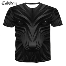 2019 new brand wolf head T-shirt clothing shirt men's rock summer cool O-neck short-sleeved fashion breathable men's T-shirt женские блузки и рубашки shirt new brand 2015 o