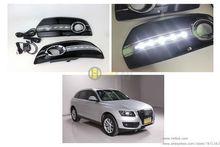 Uso especial del coche DRL LED de alta luminosidad para Q5 SUV quattro no dañar la instalación de alto brillo luz de Circulación Diurna