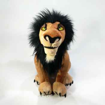 The Lion King Scar Plush Toy Soft Stuffed Animals 34cm Boys Kids Toys for Children Gifts stuffed toys Doll dolls - DISCOUNT ITEM  0% OFF All Category