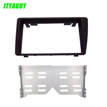 ITYAGUY 2DIN Car Dash Frame Radio Fascia for Honda Civic 2001-2005 (LHD) AutoStereo Panel kit CD Trim Installation Car Covers