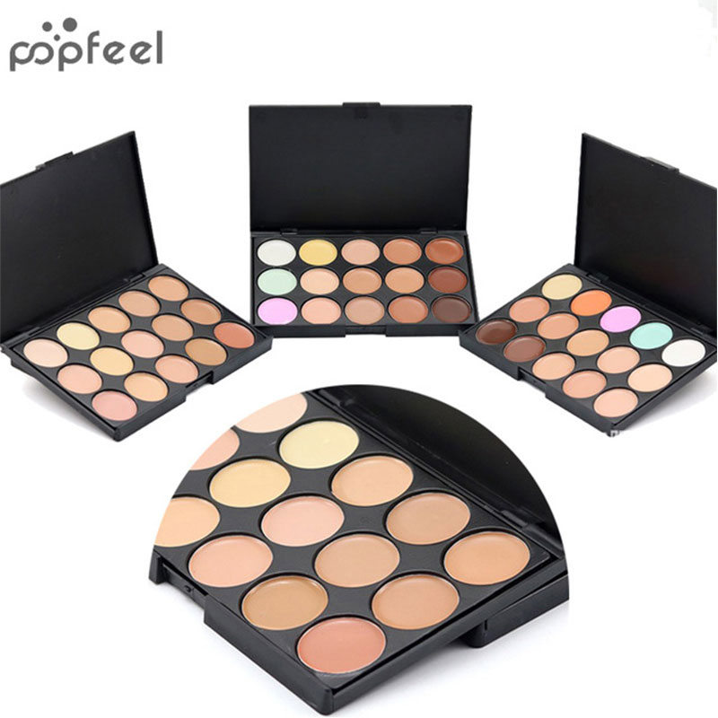 10*15CM Concealer Palette 15 Color Makeup Colors Cosmetic Set Scar Cream Face Camouflage Body Foundation Eyeshadow Cosmetic