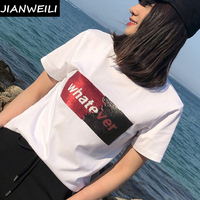 JIANWEILI Tracksuit Women Summer Two 2 Piece Set Women Sporting Suit Women Set Fitness Women Tops