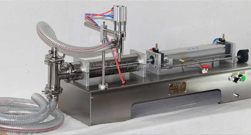 220V Single - head liquid horizontal pneumatic  quantitative filling machine ZY-G1WY free tax to RU 50 500ml horizontal pneumatic double head shampoo filling machine essential oil continuous liquid filling machine