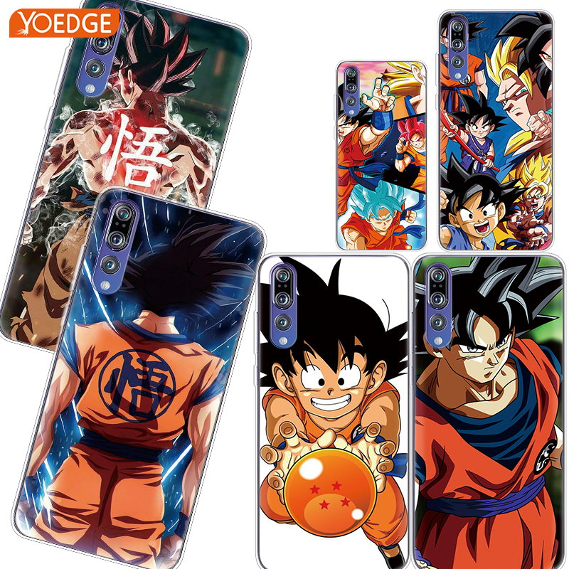 For Huawei P20 Lite P Smart 2019 P8 P10 P20 P30 Pro P9 Lite mini Mate 30 Lite 20 10 Pro 9 Dragon Ball DragonBall z goku TPU Case