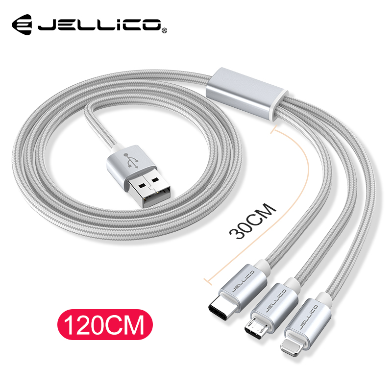 3in1 2in1 Usb Kabel Für Iphone X 8 7 6 Kabel Micro Usb Typ C Kabel Für Samsung S9 S8 Schnelle Ladekabel 3a Ladegerät Kabel Handy Kabel