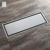 HIDEEP Stainless Steel Shower Floor Drains Rollover Type Kitchen Sink Strainer Line Floor Drains Shower For Family Bathroom