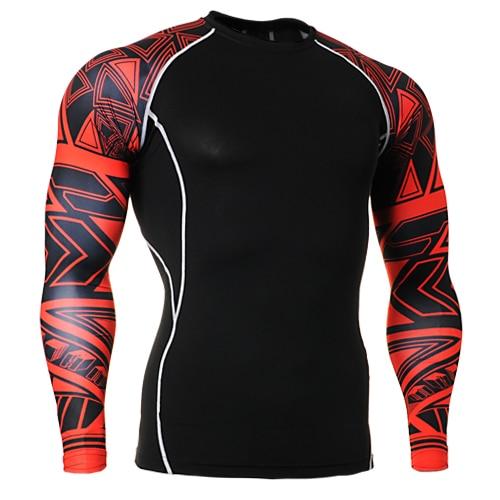 Orange О-образным вырезом мужские футболки Боулинг Рубашка Orange сжатия Одежда для фитнеса Тренажерный зал Бодибилдинг размеры S-4XL - Цвет: Синий