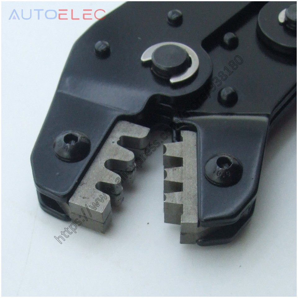 ECU Terminal Crimping Tool BARREL CRIMPER OPEN BARREL Automotive AUX - Handverktyg - Foto 2