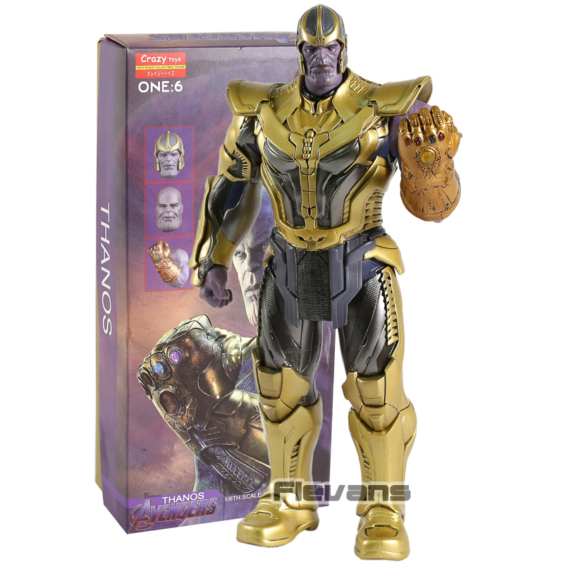 Crazy Speelgoed Avengers Infinity War Thanos 1/6 Schaal PVC Action Figure Collectible Model Toy-in Actie- & Speelgoedfiguren van Speelgoed & Hobbies op  Groep 1